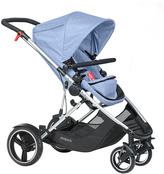 Phil & Teds Blue Marl Voyager Stroller