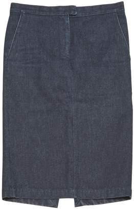 CNC Costume National Blue Cotton Skirts