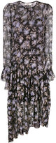 Zimmermann floral shift dress - women - Silk - 1