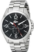 Lacoste Men's 2010808 Montreal Analog Display Japanese Quartz Silver Watch