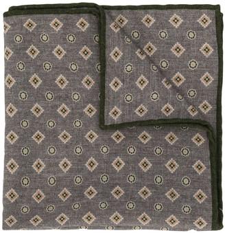 Eleventy diamond-pattern scarf