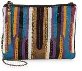 Franchi Multicolor Sequin Crossbody Bag