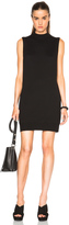 Alexander Wang Jersey Cut Out Sweater Dress