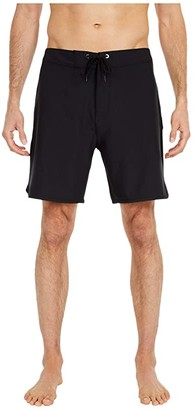 Hurley 18 Phantom One Only Boardshorts (Black) Men's Swimwear