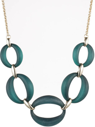 Alexis Bittar Large Link Necklace