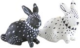 Cody Foster & Co Tribal Rabbit Ornament Set