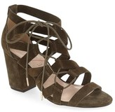 Sole Society Women's 'Sequoia' Block Heel Sandal