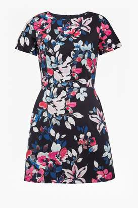 French Connection Linosa Floral Print Dress