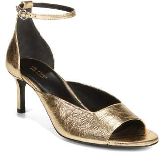 Via Spiga Jennie Metallic Ankle Strap Sandal