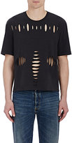 Maison Margiela Men's Distressed T-Shirt-BLACK