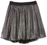 Shimmer flippy skirt