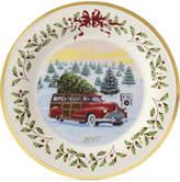 Lenox Annual 2017 Vintage Wagon Holiday Plate