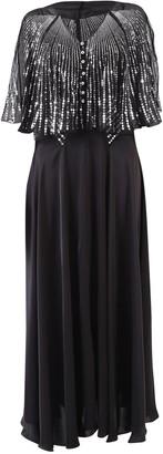 Paco Rabanne Sequins Embellished Maxi Dress