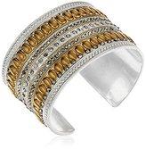 Lucky Brand Stranded Peacock Charm Bracelet