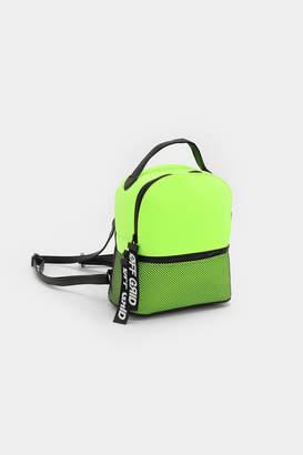 Ardene Mini Neon Mesh Backpack