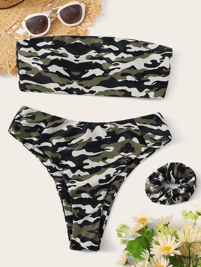 ee49e32308 Camouflage Bikini - ShopStyle