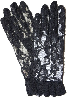 Dents Women's Lace Gloves BLACK ONE