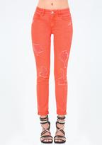 Bebe Color Heartbreaker Jeans
