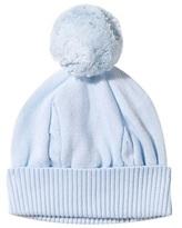 Emile et Rose Pale Blue Cable Knit Bobble Hat