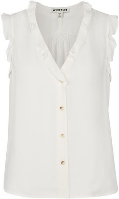 Whistles Emily Frill Top