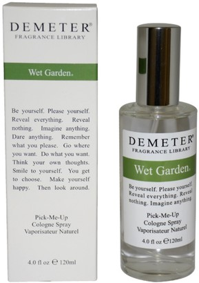 Demeter Wet Garden By For Women. Pick-me Up Cologne Spray 4.0 Oz