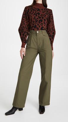 Levi's Pleated High Loose Pants