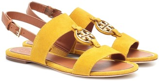 Tory Burch Miller suede sandals