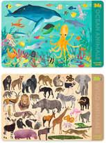 Crocodile Creek Land & Ocean Animal Place Mat Set