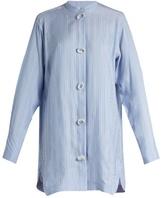 J.W.Anderson Striped silk shirtdress