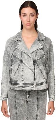 Marina Rinaldi Cotton Denim Jacket