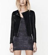 AllSaints Connell Leather Biker Jacket
