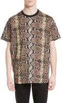 Givenchy Men's Python Print T-Shirt