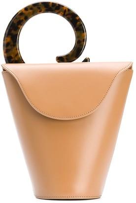 USISI SISTER Curved Handle Tote Bag