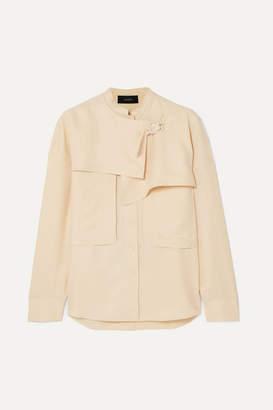 Joseph Tally Washed-silk Shirt - Cream