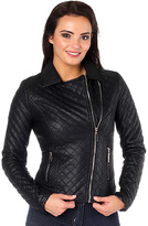 Missy Empire Clary Cropped Biker Jacket