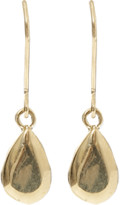 Carolina Bucci Looking Glass Pear Drop Earrings