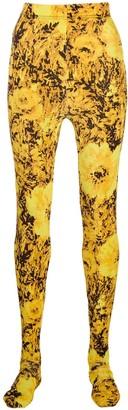 Richard Quinn Sunflower Leggings