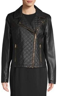 Calvin Klein Quilted Moto Jacket