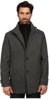 Kenneth Cole New York Wool Tweed Minimal Coat