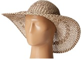 San Diego Hat Company PBL3080 Four Buttons Open Weave Floppy Hat
