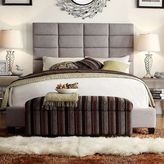 HomeVance Lorin Upholstered Bed - King