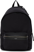 Saint Laurent Black Giant City Backpack