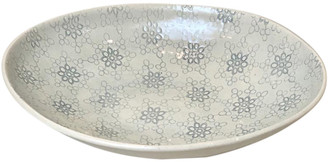Blue Duck Wonki Ware - Large Etosha Bowl In Duck Blue Egg Mixed Pattern - 29cmx22cm | duck egg blue - Duck egg blue