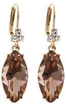Marchesa Crystal Marquise-Cut Drop Earrings