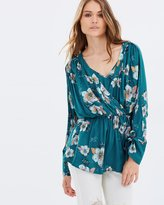 Free People Tuscan Dreams Printed Tunic