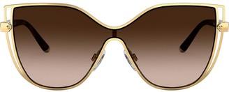 Dolce & Gabbana Eyewear Gradient Cat Eye Sunglasses