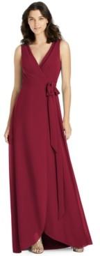Jenny Packham A-Line Wrap Gown