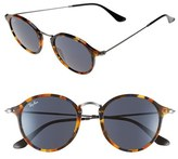 Ray-Ban Men's 49Mm Retro Sunglasses - Black/ Green