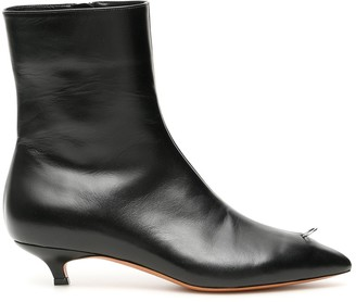 Marni Piercing Ankle Booties