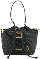 Love Moschino quilted grab handle bag - women - Polyurethane - One Size